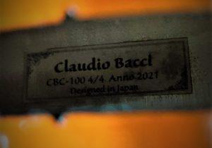 [VC]CLAUDIO BACCI